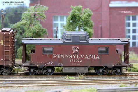 caboose cabin cars prrho model trains