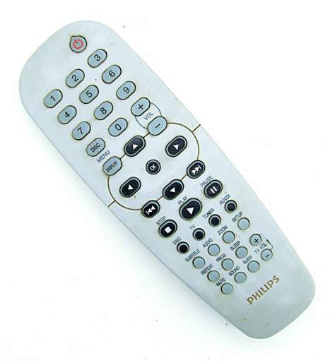 Remote Dvd Player Philips 3 Original 1 original philips 313925870111 tv dvd remote