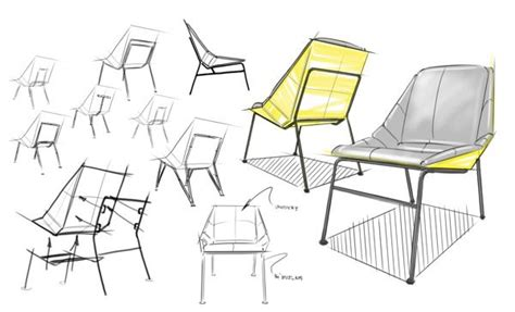 upcycled chair on behance drawing furniture behance sketches and product sketch