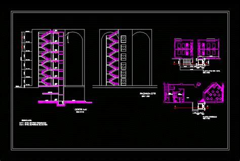 elevator  staircase dwg block  autocad designs cad