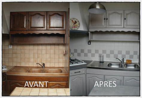 Cuisine Relookée Avant Apres by Relooker Sa Cuisine Avant Apres Brillant R 233 Novation