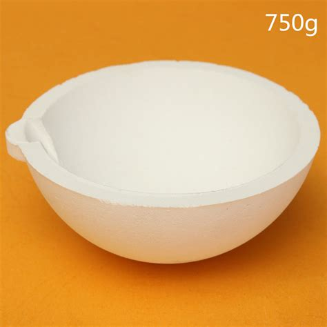 Ceramic Ring Kemasan 500gram 250 500 750 1000 gram quartz silica bowl melting crucible for gold silver metal ebay