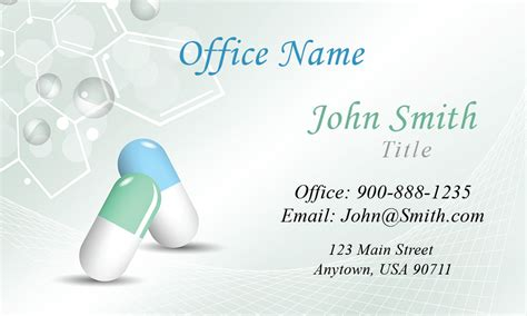 Pharma Product Card Design