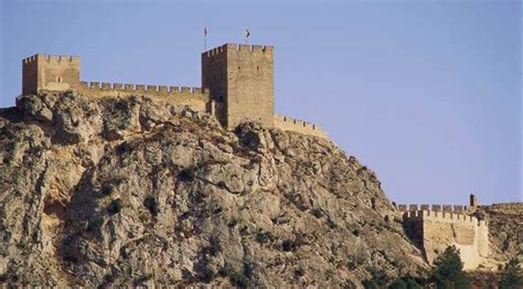Sax Castle: monuments in Sax, Alicante   Alacant at Spain