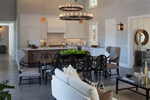 floor l for living room kitchen and family room ideas family room farmhouse with