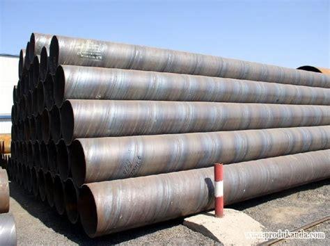 Pipa Ornamen 304 pipa spiral welded astm a 252 gr 2 gr 3 jis a 5525 skk400 490 pt weldcon soitindo
