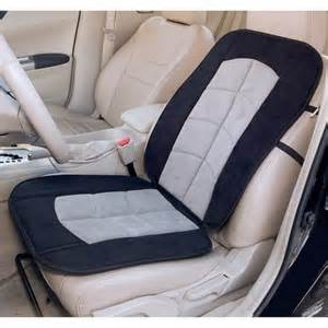 Heated Car Seat Covers Walmart Auto Drive Microsuede Seat Cushion Walmart