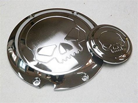 Derby Timer Cover Nightster Skull chrome skull derby timing timer cover for harley xl