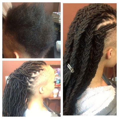 is dreadlocks a protective style dreadlock extensions protective style with shaved sides