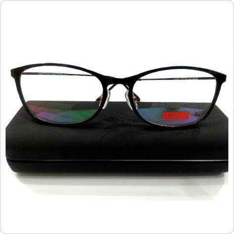 Frem Kacamata Pria Wanita jual frame kacamata pria wanita goggles warna hitam mamy shop
