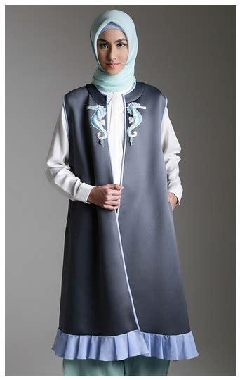 Outer Baju Hangat Owl style fashion outerwear muslim untuk musim hujan 2017