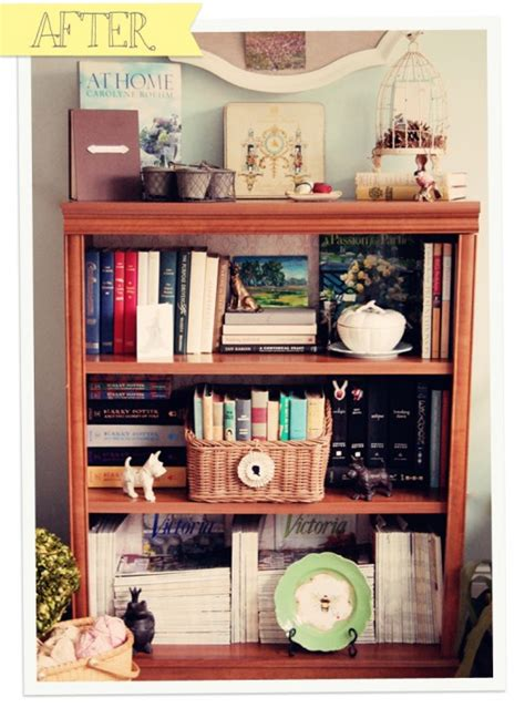 how to organize a bookshelf celebrating everyday