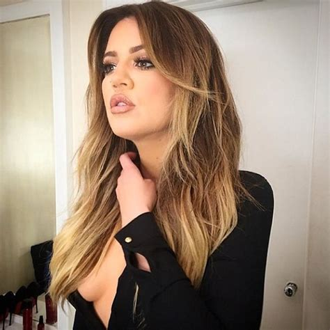 khloe kardashians ombre hair expert tips to get the look khloe kardashian blonde ombre hair pinterest hair