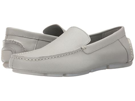 edberth loafers miguel grey calvin klein miguel light grey perf 6pm