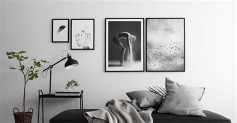 Black And White Paintings For Bedroom by Black And White Posters Buy Your Wall At