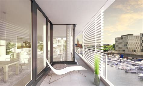 hängematte kleiner balkon design balkon architektur