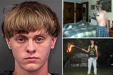 dylann roof racist mass killer dylann roof who shot dead nine people