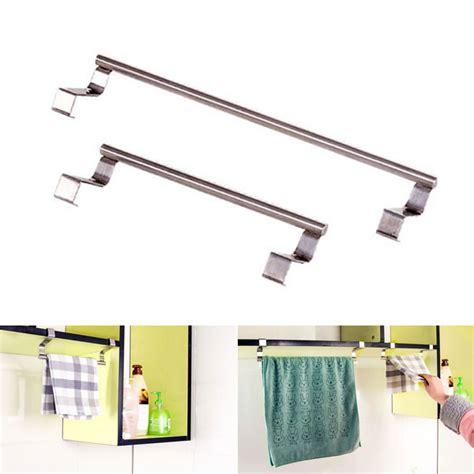 Kitchen Cabinets Hanging System The Kitchen Cabinet Cupboard Door Rail Tea Towel Hook Hanging Holder Ebay