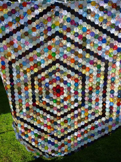 Hexagon Patchwork - 80 best hexies milles and more images on