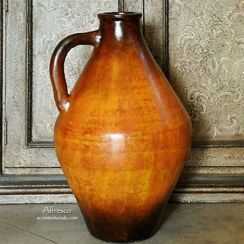 Tuscan Floor Vase by Tuscan Water Vessel