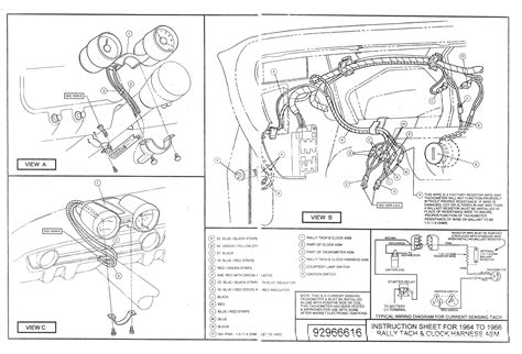 66 mustang wiring diagram wiring diagram with description