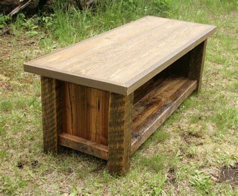 rustic entryway benches rustic reclaimed barnwood entry bench entry bench love