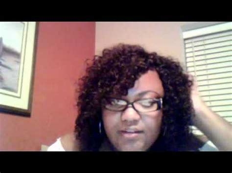 hairstyle using jerry curl full head weave indian hair jerry curl youtube