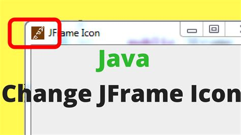 java swing icons change jframe icon in java c java php programming