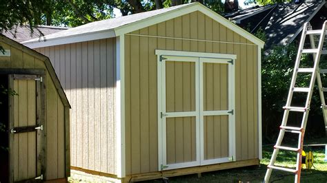 12x12 Shed Plans 12 215 12 Customer Built Gable Shed Icreatables