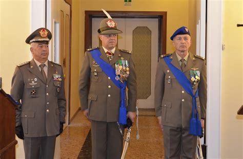 cambi ufficiali d italia cambio al vertice comando militare trentino alto adige