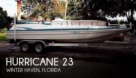 used boats for sale in winter haven fl hurricane 23 boat for sale in winter haven fl for