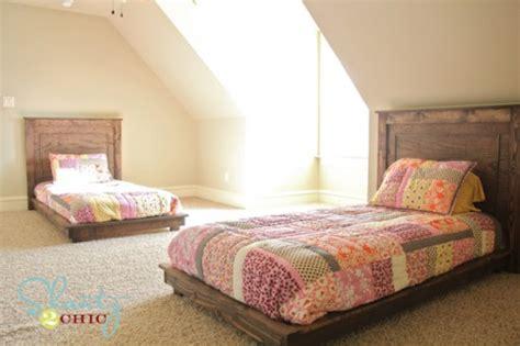 hometalk diy  twin platform bed