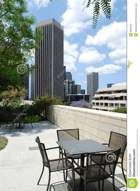 Patio Downtown by Patio Los Angeles Downtown Usa Stock Photos Image 5801973