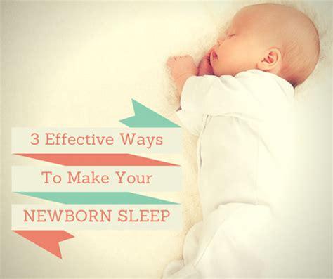 Ways To Get Your Baby To Sleep In Their Crib Effective Ways To Make Your Newborn Sleep