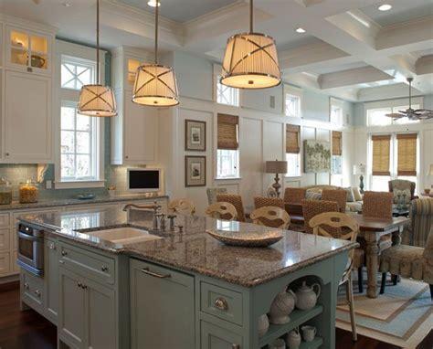 blue kitchen island 1000 images about kitchen island lighting on