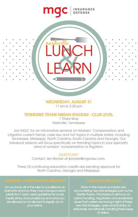 2016 nashville lunch learn mgc