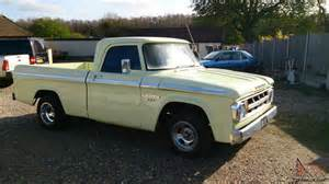 dodge d100 1968 shortbed 340 mopar