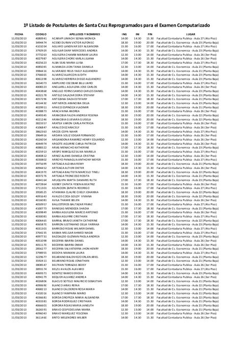 jurados electorales referemdun 2016 bolivia lista de jurados electorales referendum 2016 cochabamba