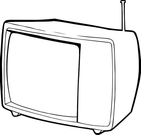 Tv Outline Png by Clipart Raseone Tv 2