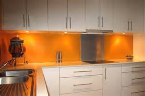 Wall Ideas For Kitchens acrylic splashbacks with metaline insert behind the