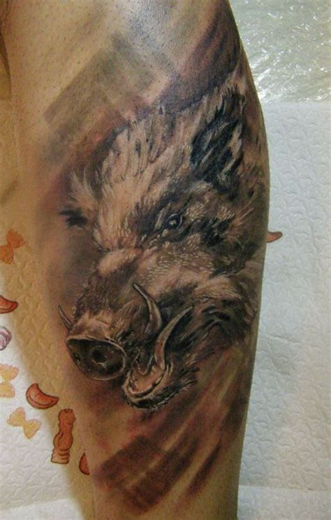wild boar tattoo designs 30 best tattoos of boars images on