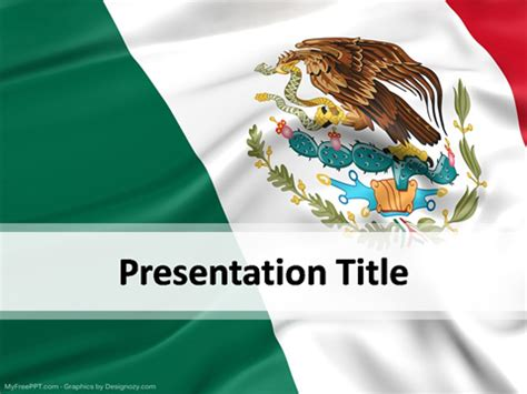 mexican themed powerpoint template mexico powerpoint