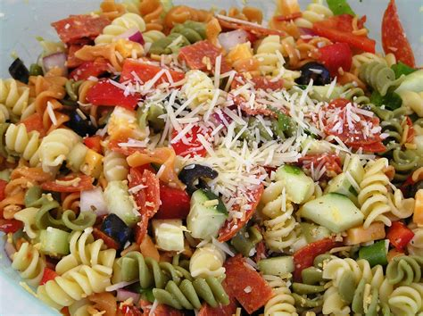 pasta salat italian pasta salad recipes dishmaps