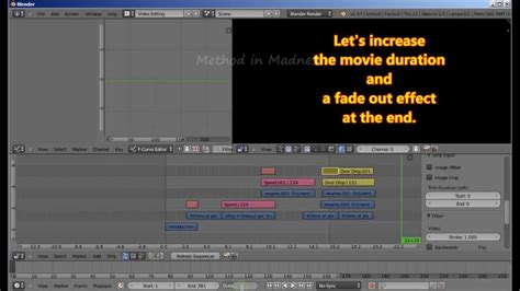 tutorial video editing blender professional multitrack video editing with blender part
