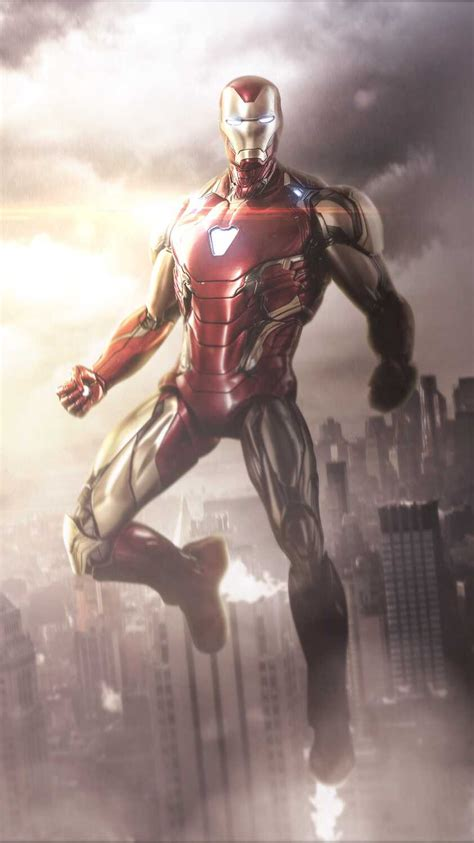 iron man avengers endgame armor iphone wallpaper iphone