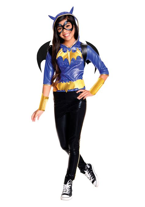 superhero halloween costumes for girls dc superhero girls batgirl deluxe costume