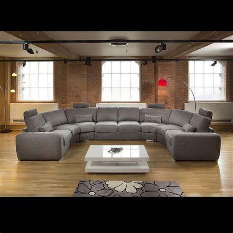 U Shaped Grey Sectional Best 25 U Shaped Sofa Ideas On