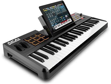 Keyboard Musik Usb akai turns an into a sized keyboard akai synthstation49 cdm createdigitalmusic