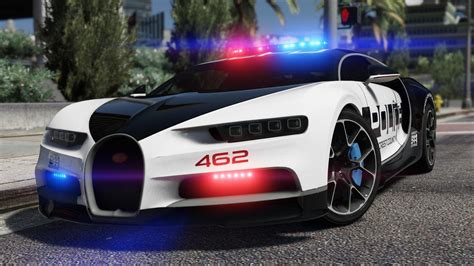 police bugatti bugatti chiron pursuit police add on replace