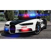 Bugatti Chiron  Hot Pursuit Police Add On / Replace